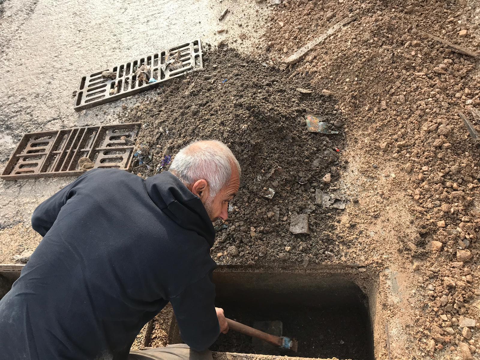 المجلس المحلي طلعة عارة يعمل على تهيئة البنية التحتية في قرى طلعة عارة.